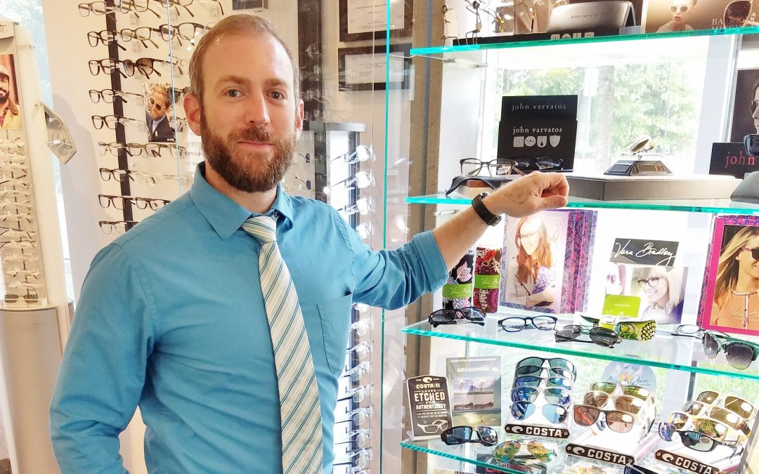 Employee Focus Part Two: Mike, Ridgefield Vision Center's Licensed Optician and Optical Manager
