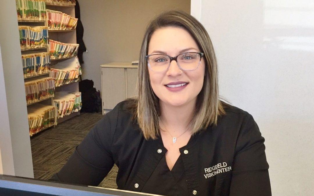 Employee Focus: Meet Megan, Ridgefield Vision Center's Certified Paraoptometric Associate