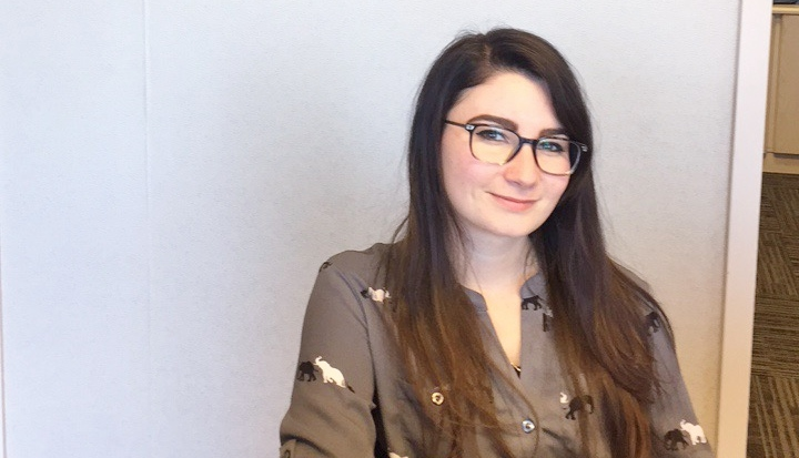 Employee Focus: Meet Nicole, Ridgefield Vision Center's Receptionist and Unofficial Artist in Residence